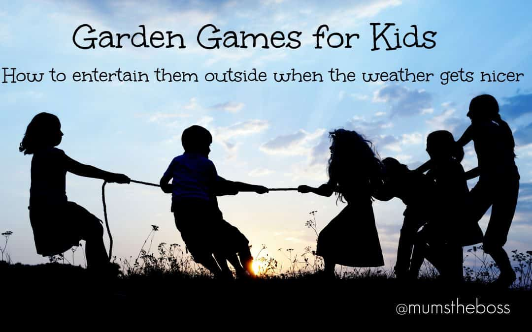 Great Garden Games for Kids