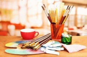 Many people now make money from crafting hobbies and businesses