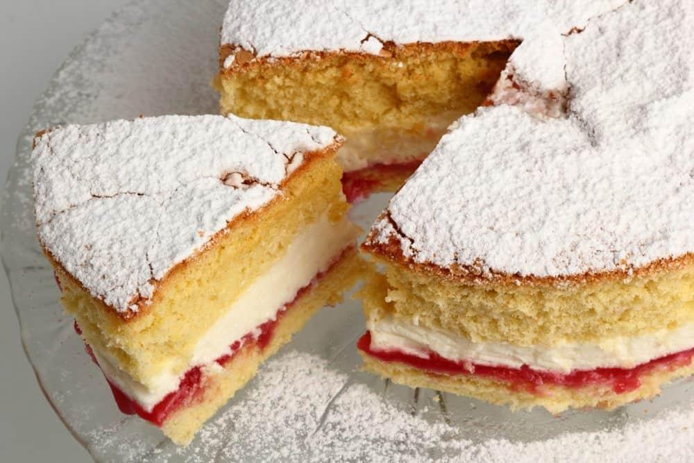 The Great British Victoria Sponge Sandwich Cake