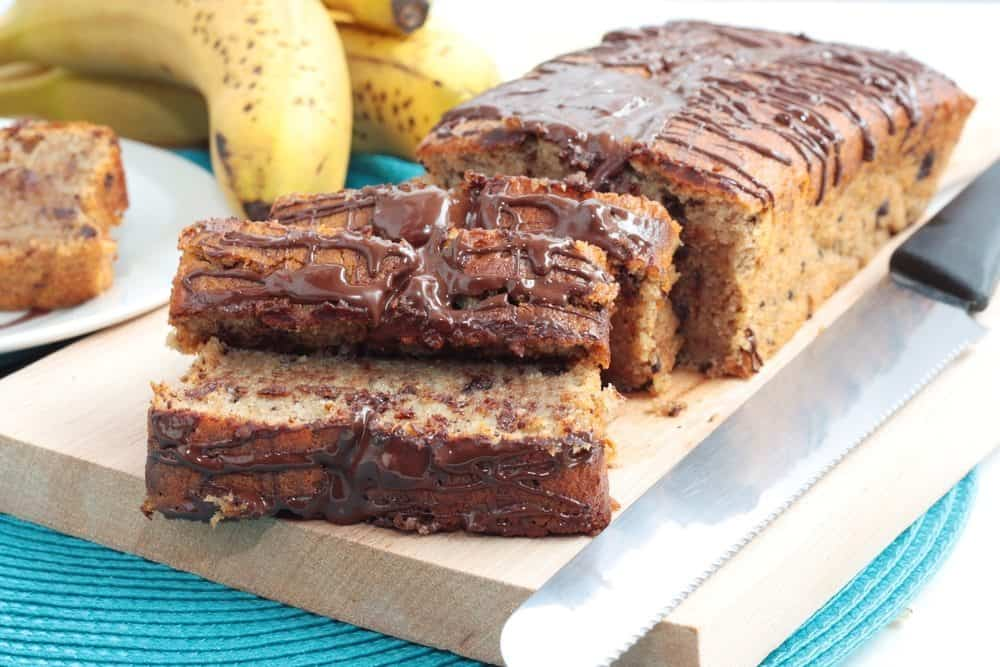 Mary Berry's Banana and Chocolate Loaf