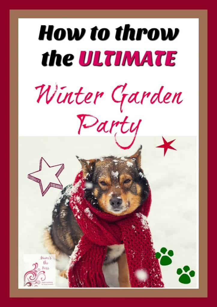 Winter garden party